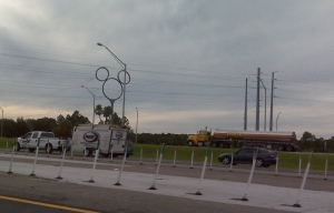 Disney Phone pole